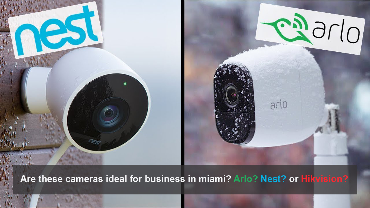 Security cameras business Miami Florida