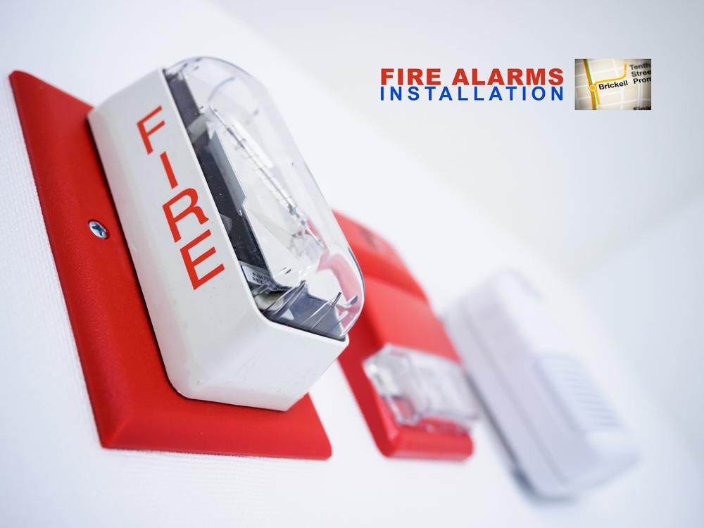 fire alarms Installation in Brickell, Miami Dade, Florida